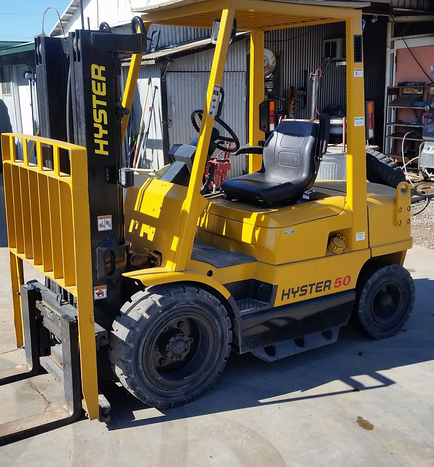 Hyster 50 Forklift Specifications Best Fork 2018 Wiring Diagram For H2 50xl 1991 Rough Terrain Truck Photo And Specs